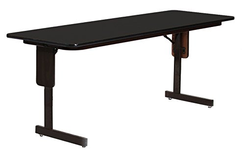Training Room Table (Correll SP2472PX-07 High Pressure Laminate Classroom, Training or Seminar Table with Folding Panel Leg  , Rectangular, 24