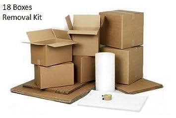 1 cama Kit para mover - incluye cajas de cartón, papel de ...