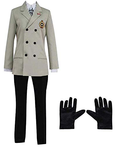 LYLAS Men's School Uniform Halloween Suit Cosplay Costume