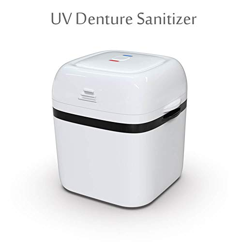 - Lukirch Denture Cleaner Case, Portable Denture Bath Cleaning Soaking Cup with Strainer for Denture, Mouth Guard, Invisalign, Retainer, Snore Guard Sleep Retainer (Denture Box)