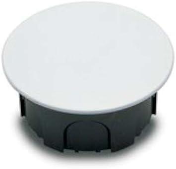 Famatel 3211 - Caja empalme redonda diámetro 100 50x100 garras: Amazon.es: Bricolaje y herramientas