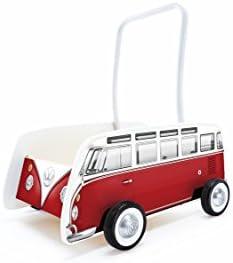 Hape- Andador bebé Furgoneta Volkswagen, Color Rojo (Barrutoys ...