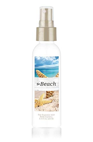 (The Beach Perfume Fine Fragrance Mist by Body Exotics 3.5 Fl Oz 103 Ml ~ a Fresh Blend of Warm Sand, Sea Spray, Driftwood, Lavender, Bright Citrus, Sand Jasmine, White Musk, Coconut, and Sea Salt)