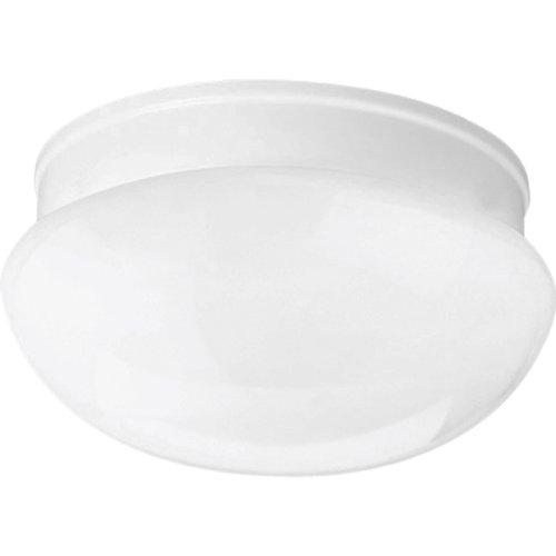 Progress Lighting P3408-30 1-Light Close-To-Ceiling Fixture, White ()