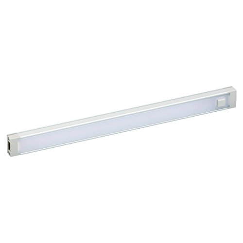 BLACK+DECKER LED Under Cabinet Lighting Add-On, 1-Bar, 9 Inches, DIY Tool-Free Installation, Cool White, 4000K, 380 Lumens, 5.4 Watts, Home Task Lighting (LEDUC9-1C)