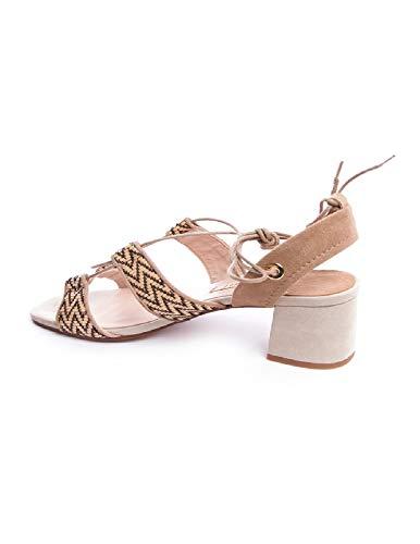 Modo Humat Donne Beige 4 Formato Delle Sandali Di OZBqxUA