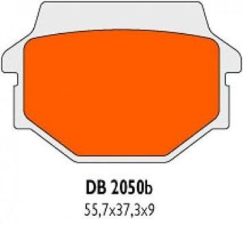 Hinten Bremsbel/äge Delta Braking Sinter DB2050RDN f/ür AEON 350 Cobra Baujahr 10-11