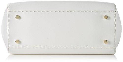 Trussardi 75b491xx53, Borsa a Mano Donna, 37x27x19 cm (W x H x L) Multicolore (White(=p16))