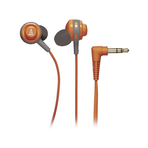 Audio Technica ATHCOR150OR In-Ear Headphones, Orange