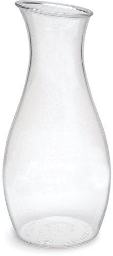 Carlisle 7090307 Cascata Carafe Juice Jar Beverage Decanter Only, Plastic, 1.5 L, Clear Carlisle Post