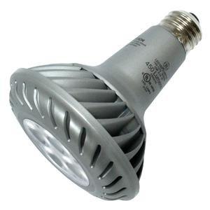 LED - 10 Watt - PAR30 - Long Neck - 55W Equal - 1240 Candlepower - 35 Deg. Flood - 2700K Warm White - GE 68014