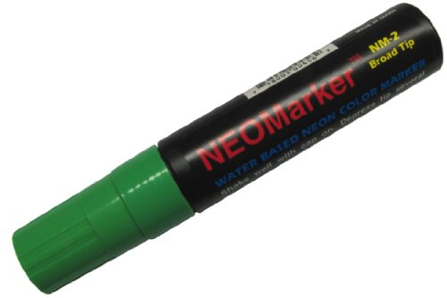 Neomarker Large Waterproof Marker Broad Tip - Green