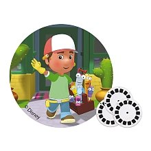 Playhouse Handy Disney Manny (ViewMaster 3D Reels - Handy Manny 3-pack Set)