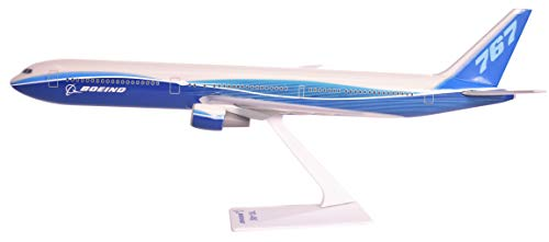 (Boeing Demo (04-Cur) 767-400 Airplane Miniature Model Plastic Snap Fit 1:200 Part# ABO-76740H-005)