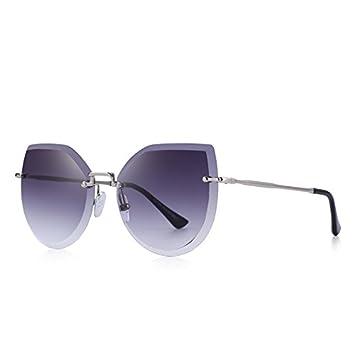 TIANLIANG04 Cat Eye Sonnenbrille Sonnenbrille UV-Schutz 400, C04, Rosa