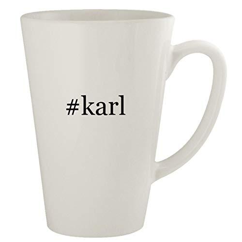 #karl - Ceramic 17oz Latte Coffee Mug (Karl Pilkington A Day In The Life)
