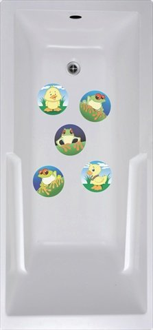 VersaTraction STS-WAA1 Wai Aikanes Animals No Slip Mat - 5 Pack by VersaTraction
