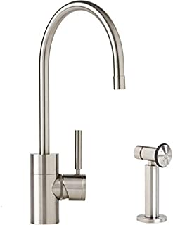 product image for Waterstone 3800-1-AB Parche Kitchen Faucet w/Side Spray Antique Brass