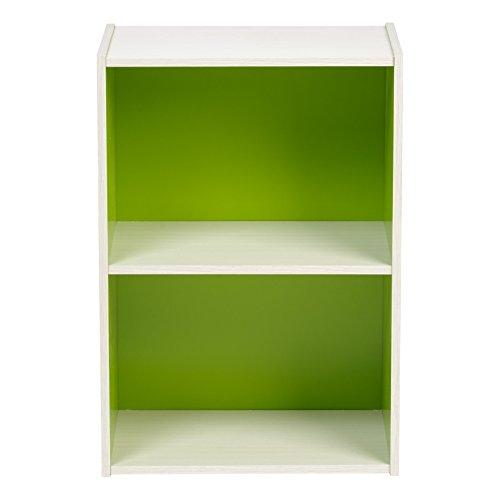 IRIS 2-Tier Wood Storage Shelf, Green by IRIS USA, Inc. (Image #2)