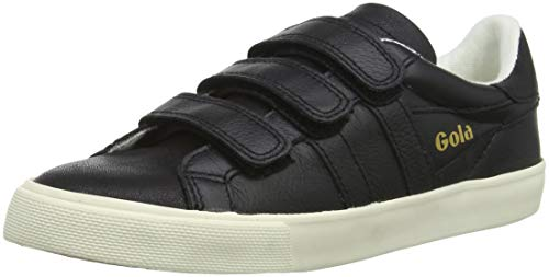 Gola Shimmer Bb Donna Nero nero Sneakers Velcro Orchid r5Rw8qr