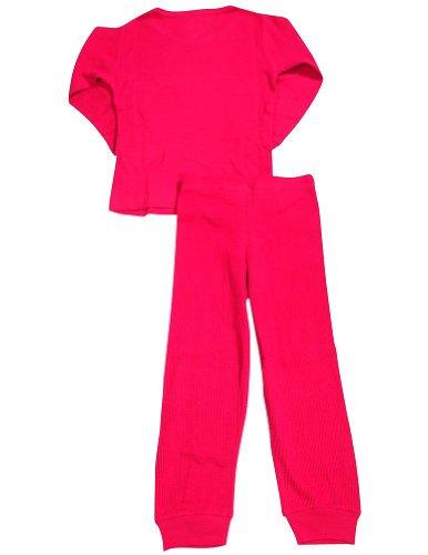 Dickies - Big Girls' 2 Piece Thermal Underwear Set, Fuchsia 32596-10/12