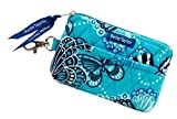 Bella Taylor Butterfly Quilted Cotton Gadget Pouch, Bags Central