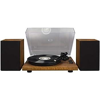 Amazon.com: Crosley T100 2-Speed Bluetooth Turntable System ...
