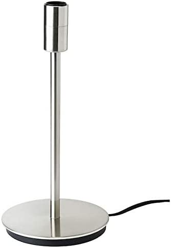 Ikea Skaftet Lampada Da Tavolo Nichelata 30 Cm A Amazon It Illuminazione