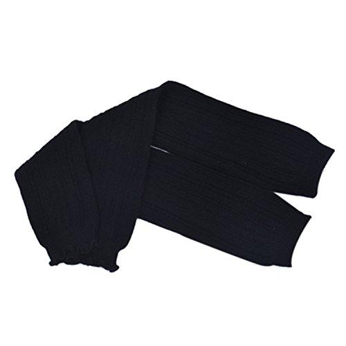 Knee Deep Black Lace - JIANGTAOLANG Winter Warm Women fashion Leg Warmers For Women Over Knee Socks