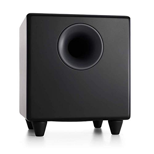 Audioengine S8 250W Powered Subwoofer, Built-in Amplifier (Black)