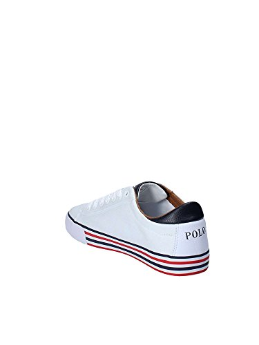 Lauren Homme Polo Bianco Sneakers Ralph 105awqvO
