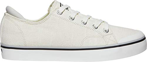 KEEN - Women's Elsa III Canvas Sneaker for Casual Everyday Use, White, 6 M - Canvas Skirt