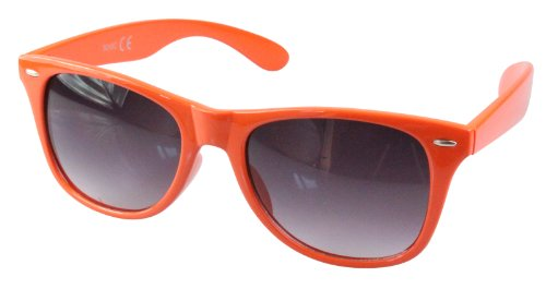 soleil monture Orange style 80's couleurs retro Lunettes differentes de Wayfarer 1wPqBxBYT5