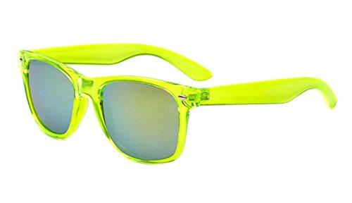 Sunglasses Classic 80's Vintage Style Design (Lemon Lime)…