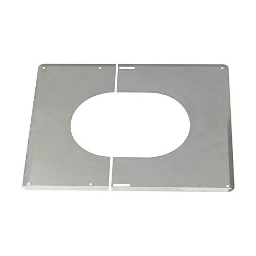 Accessoires opsinox plaque de finition 0° a 30° inox 200 ref 482020 TEN