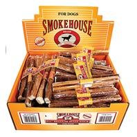 Smokehouse Pet Products DSM50503 60-Pack Bully Dog Treat Stick Shelf Display Box, 6-1/2-Inch by SmokeHouse