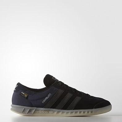 adidas - Hamburg Tech Shoes - Black - 7.5