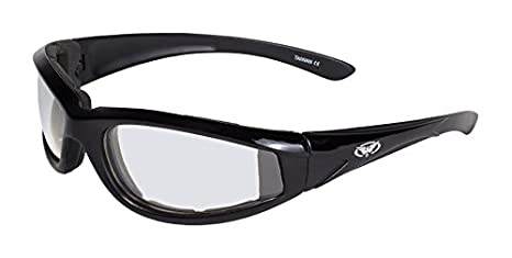 Global Vision Eyewear 24 Hawkeye Series with Pink Frames and Clear Photochromic Lenses Photochromic Clear to Smoke Lens Black Frame Global Vision Eyewear Corp