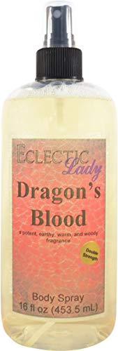 Dragon s Blood Body Spray Double Strength , 16 ounces