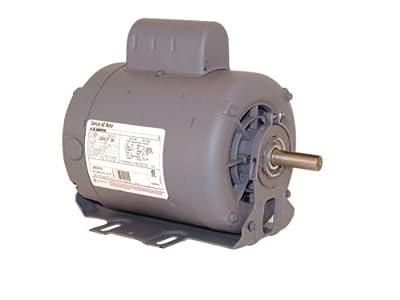 Century B701 Cap Start Resilient, 56 Frame, 1-HP, 3450-RPM, 115/208-230-Volt, 12-Amp, Sleeve Bearing Motor