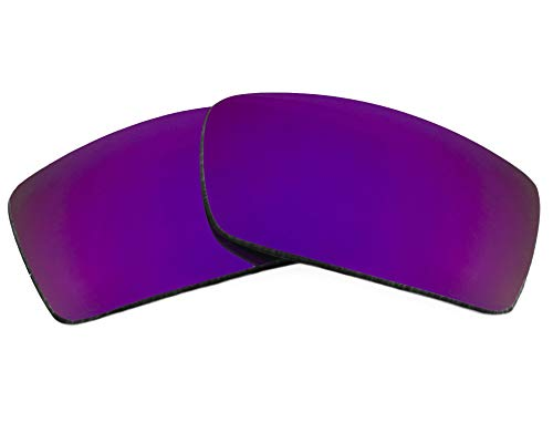 (GASCAN Replacement Lenses Polarized Purple Mirror by SEEK fits OAKLEY Sunglasses)