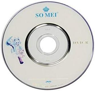 Pack de 10, Mini DVD-R 8 cm, 1.4GB / 30mins, (Blanc): Amazon.es: Electrónica