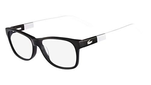 Óculos Lacoste L2691 001 Preto Branco Degradê Lente Tam 53