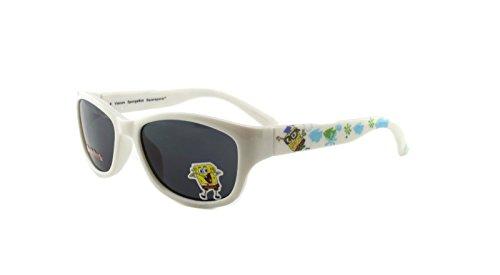 New Authentic Nickelodeon Sponge Bob SB30 White Kids Sunglasses 46mm Gray ()