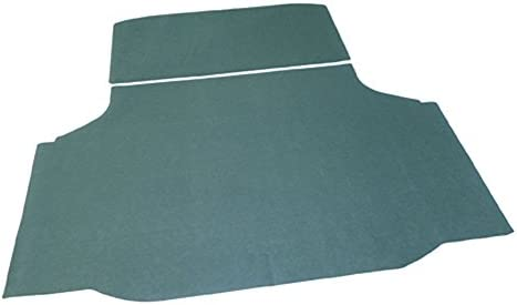 Compatible With 70-72 Oldsmobile Olds 442 W-30 Cutlass F-85 Green Trunk Mat Felt Rubber Backing M-4-5