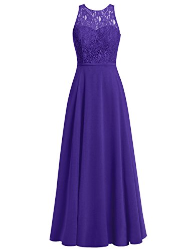 Long Bodice Cdress Evening Bridesmaid Prom Chiffon Lace Gowns Dresses Dress Regency Wedding 5XwSqwH