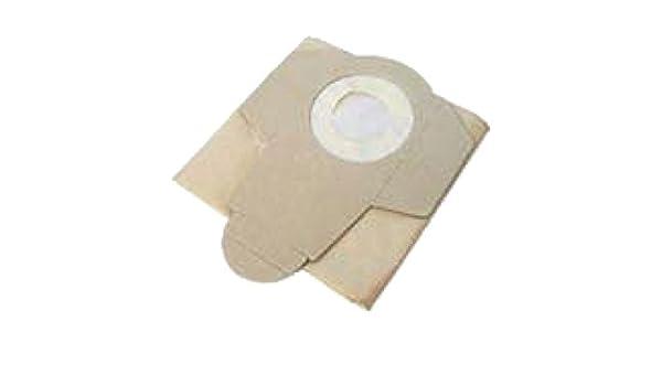 Lote de 5 bolsas de papel para aspirador LOASP151 Leman abr315: Amazon.es: Bricolaje y herramientas