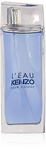 Kenzo Pour Homme Cologne - L'Eau Par Kenzo Men Eau-de-toilette Spray by Kenzo, 3.4 Ounce