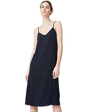 Mango Women's Frayed Edges Dress