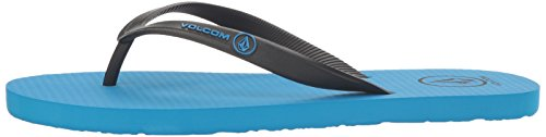 Volcom Chanclas Rocker Solid, Color: TRUE BLUE, Size: 40,5 EU (8 US / 7 UK) True Blue